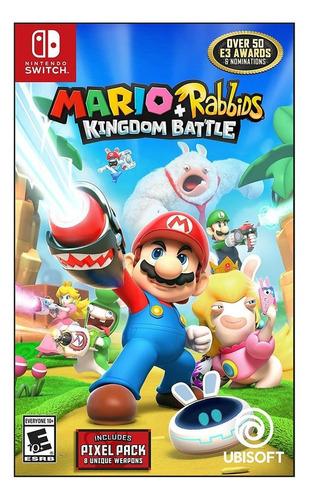 Imagen 1 de 5 de Mario + Rabbids Kingdom Battle Ubisoft Nintendo Switch  Físico