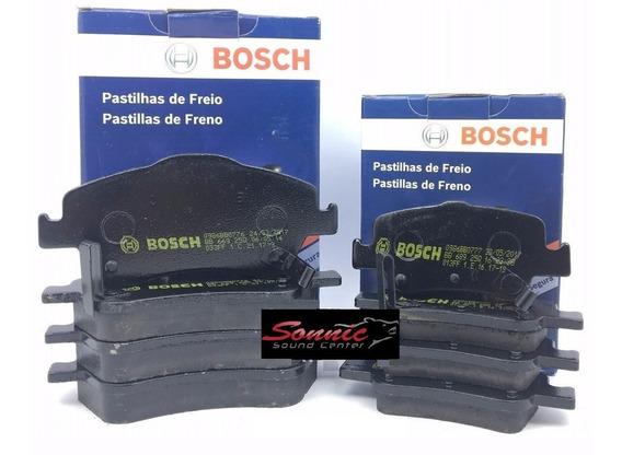 Kit Pastilha De Freio Dianteira Traseira Corolla 2013 Bosch