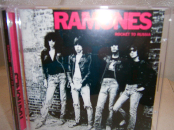 Cd Ramones - Rocket To Russia - Ed. Rhyno Com Bônus