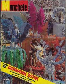 2/3/1985 Revista Manchete Nº 1715 Carnaval Do Rio De Janeiro