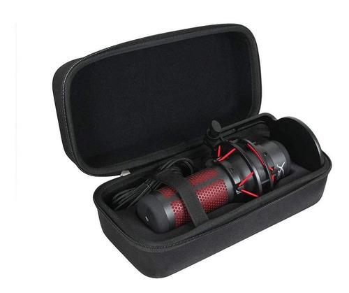 Estuche De Viaje Duro Para Hyperx Quadcast Usb Microfon...