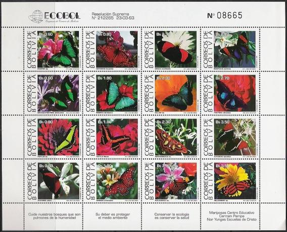 Fauna - Mariposas - Bolivia - Hojita Mint