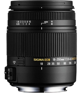 Sigma Lente 18-250mm F3.5-6.3 Dc Os Hsm Macro/para Sony A