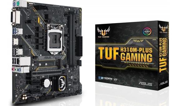 Placa-mãe Asus Tuf H310m-plus Gaming! Lga1151 8ª Geração!