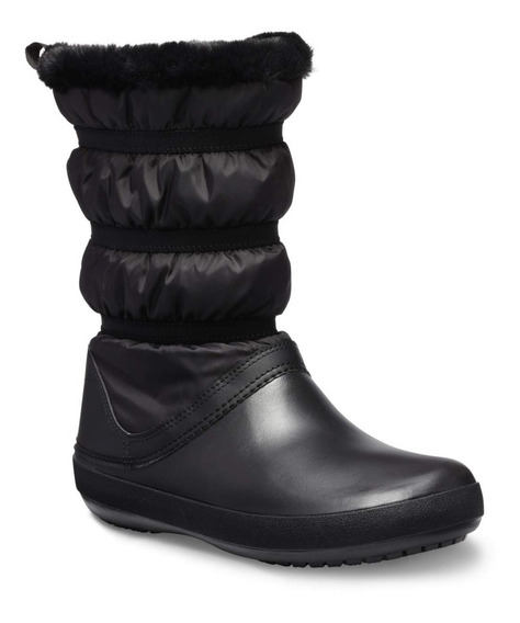 Botas Mujer Crocs Crocband Winter Boot W- Black/black