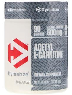 Acetyl L Carnitine Acetil L Carnitina Dymatize 500 Mg 90 Cap