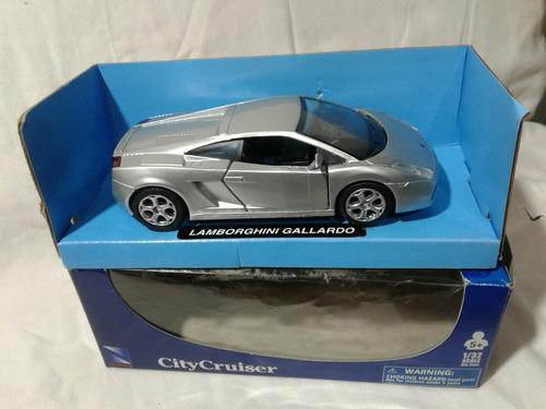 Auto Lamborghini Gallardo Escala 1:32 City Cruiser Newray