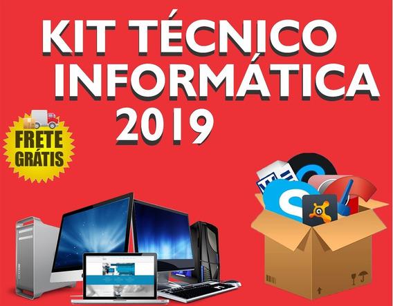 Kit Técnico Informática Formatação E Pós Formatação 2019
