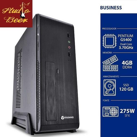 Cpu Iron Pentium G5400 3.7ghz 8ª Ger. Mem. 4gb Ddr4 Ssd 120g
