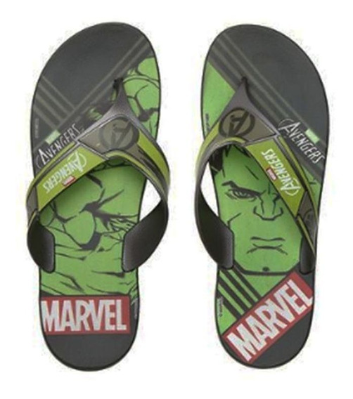 Chinelo Hulk Grendene Sem Frete 010873