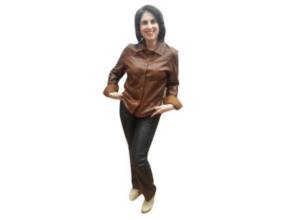 Pantalón Cuero Damas Excelente Calidad Guns Leather