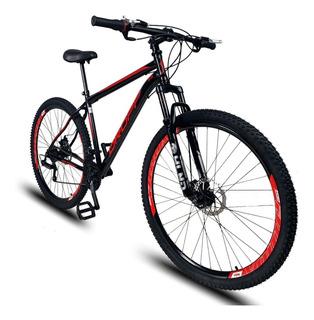 Bicicleta Dropp Aro 29 Em Aço Freios A Disco 21v Shimano
