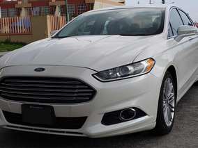Ford Fusion 2.0 Turbo Se Luxury L4 Navegación Piel