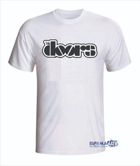 Camiseta Personalizada The Doors - Em Promoção