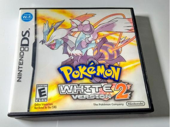 Pokemon White 2 Com Luva - Ds / Dsi / 3ds - Impecável !!!
