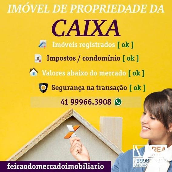 Casa Com 2 Dormitórios À Venda, 55 M² Por R$ 49.500 - Área 08 - Telêmaco Borba/pr - Ca0022
