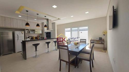 Imagem 1 de 24 de Casa Com 3 Dormitórios À Venda, 174 M² Por R$ 900.000 - Condomínio Ouro Ville - Taubaté/sp - Ca7140