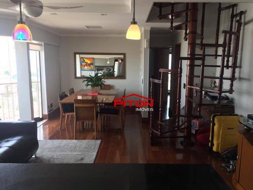 Apartamento Duplex Com 3 Dormitórios À Venda, 179 M² Por R$ 750.000,00 - Penha De França - São Paulo/sp - Ad0018