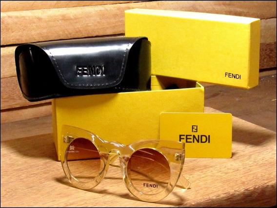 Óculos De Sol New Fendi Lolly Receba Em Até 48 Horas °1728°