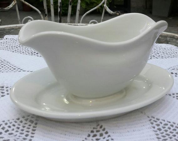 Antigua Salsera Porcelana Alemana Kpm Sellada