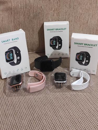Imagem 1 de 4 de Smartwatch Smart Bracelet D20 D20 D20 1 1.3  Caixa De  Plást