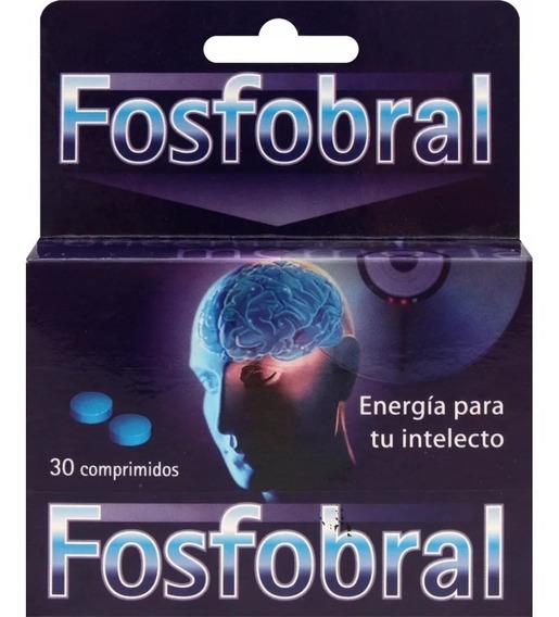 Fosfobral Rendimiento Intelectual Y Circulacion 30 Compr