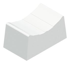 Kit Com 50 Knobs Deslizante Pequeno Branco