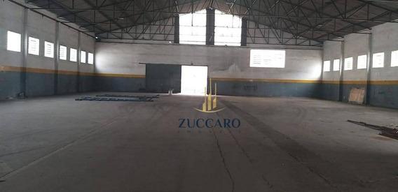 Galpão Para Alugar, 2031 M² Por R$ 28.800/mês - Cidade Industrial Satélite De São Paulo - Guarulhos/sp - Ga1601