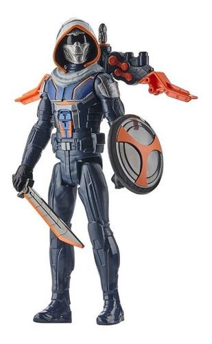 Boneco Marvel Taskmaster Blast Gear Titan Hero Hasbro E9671