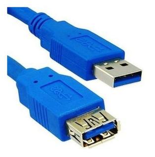 Cable Alargue Usb 3.0 De 1.5 Metros Extensor Macho Hembra