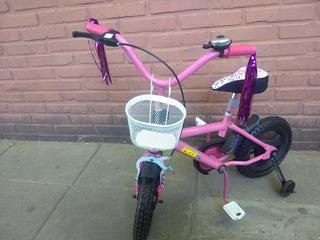 Bicicleta Rodado 12 Full Freno Con Accesorios