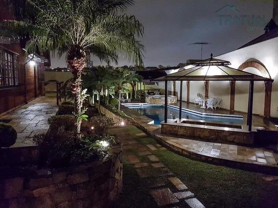 Sobrado Residencial À Venda, Campestre, Santo André. - So0102