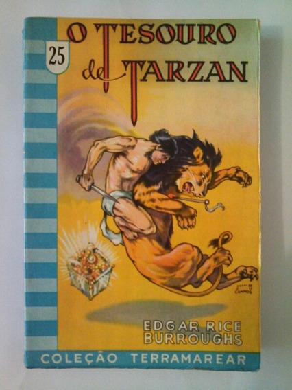 Livro O Tesouro De Tarzan