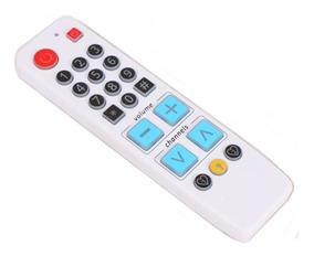 Controle Remoto Tv Aprendizagem Com Luz Idosos Deficiente