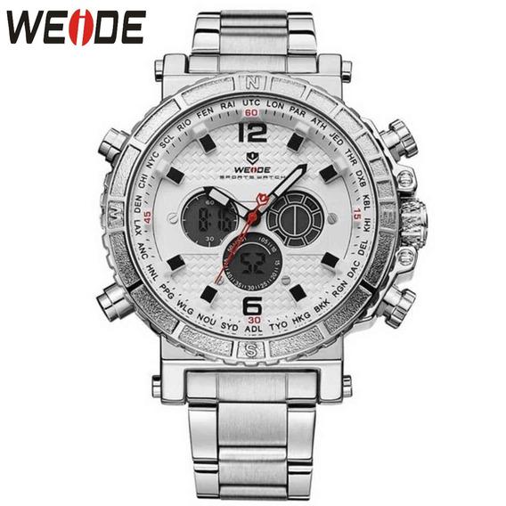 Relógio Masculino Original Weide 6305 De Alta Qualidade