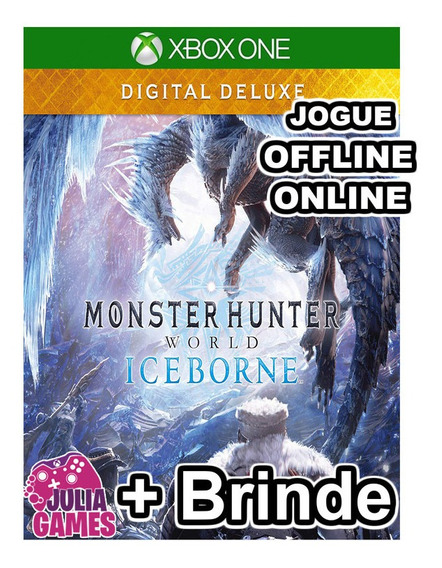 Monster Hunter World Iceborne Deluxe Xbox One + Brinde