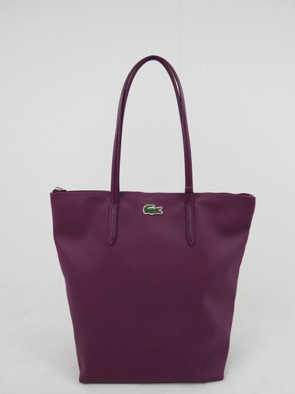 Bolsa Lacoste Pvc Split Leather