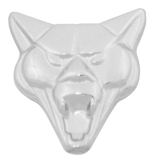 Emblema Frontal Frente Bico Do Capo Metal Cromado Cara Puma