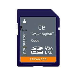 Tarjetas Sd,tarjeta De Memoria Promaster Advanced Sdhc 1..