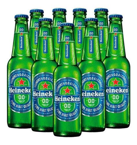Imagen 1 de 7 de Cerveza Heineken 0.0% 4x6 Bot 250ml