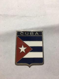 Insignia Escudo Auto Cuba