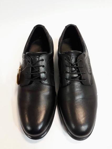 Zapato Ringo Ultraliviano De Eva - Lester 11 Negro Black