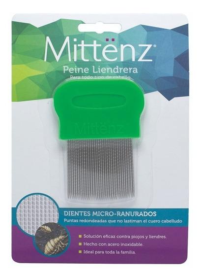 Miitenz Peine Metálico Para Piojos Y Liendres Blister C/6 Pz