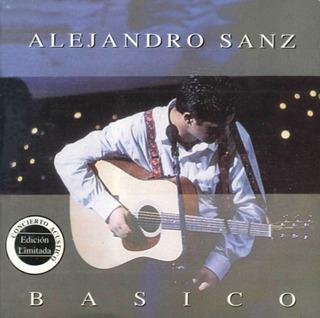 Alejandro Sanz Basico Concierto Acústico Cd Nuevo Sellado