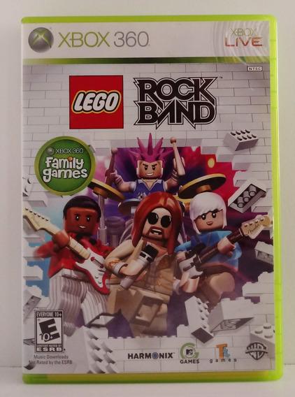 Lego Rock Band Jogo Xbox 360 Usado Mídia Física