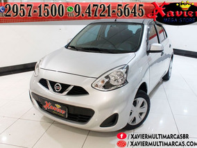 Nissan March 1.0 Mt 2015 Prata Financiamento Próprio 7056