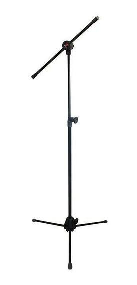 Suporte Saty Microfone Girafa Pé Com Trava Pmg10