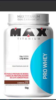 Suplemento Whey Pro Max Titanium. 1 Kg