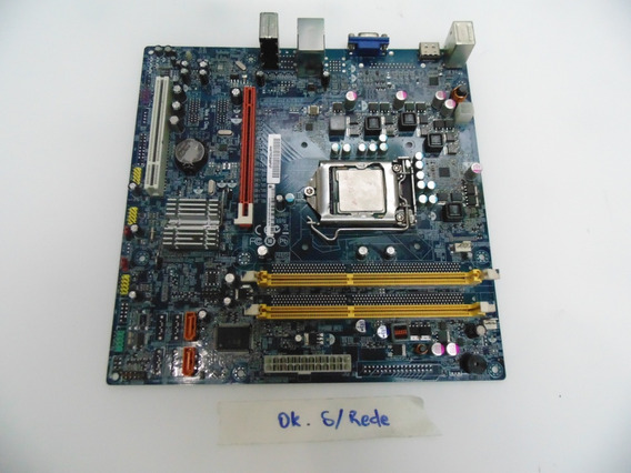 Placa-mãe Pc 1156 Ddr3 Positivo Pos-eih55hbm + I5-650