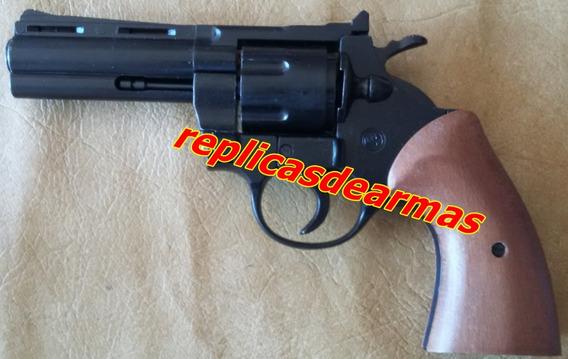 Revolver De Fogueo Por Cañon Colt Python 357 Cal .380